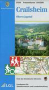 LGL BW 50 000 Crailsheim Freizeitkarte