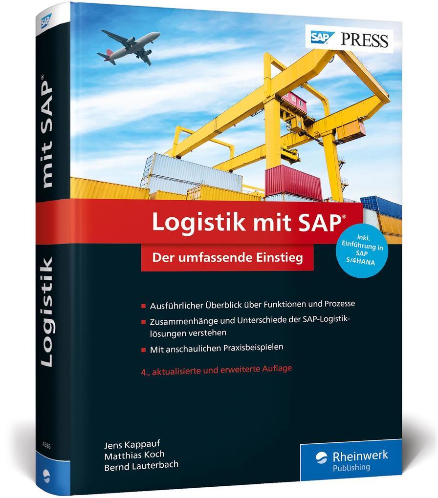 Logistik mit SAP als Buch von Jens Kappauf, Mat...