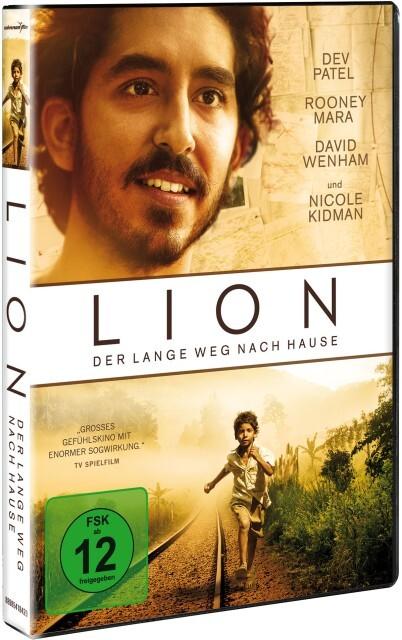 Lion - Der lange Weg nach Hause als DVD