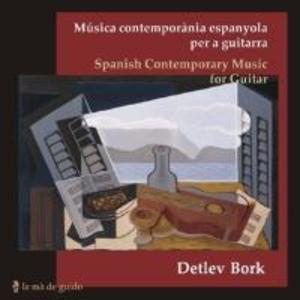 Zeitgenössische spanische Musik für Gitarre
