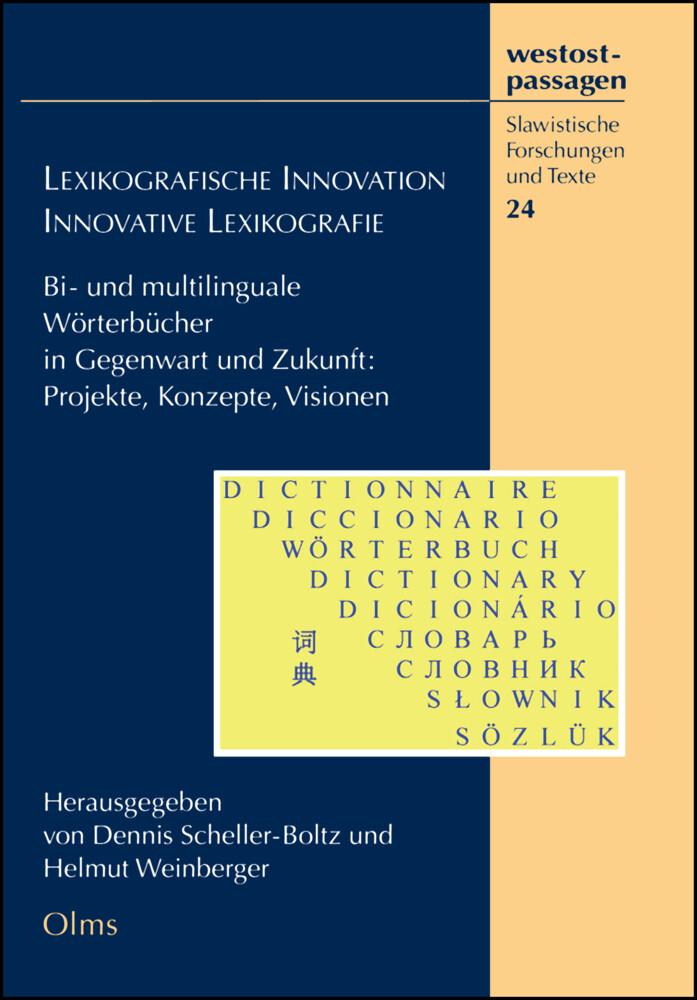 Lexikographische Innovation - Innovative Lexiko...