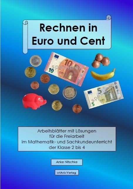 Rechnen in Euro und Cent als Buch von Anke Nits...