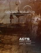 Genesis to Revelation: Acts Participant Book [large Print]: A Comprehensive Verse-By-Verse Exploration of the Bible