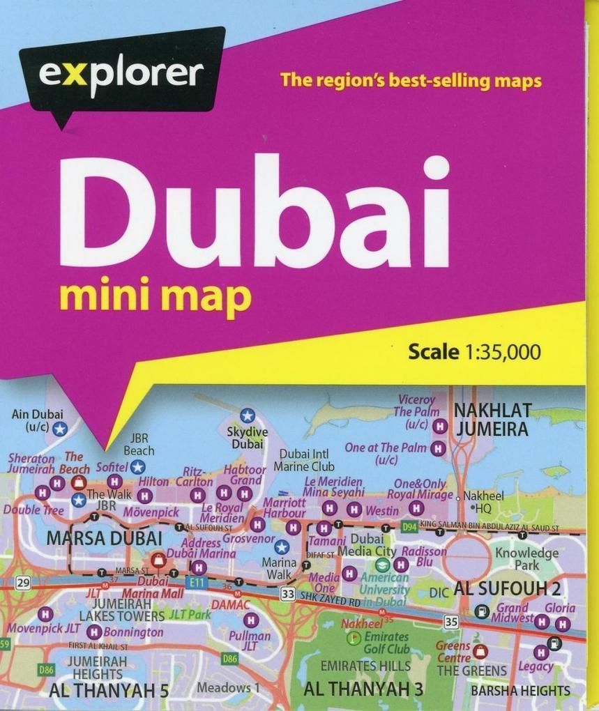 Dubai Mini Map als Buch von