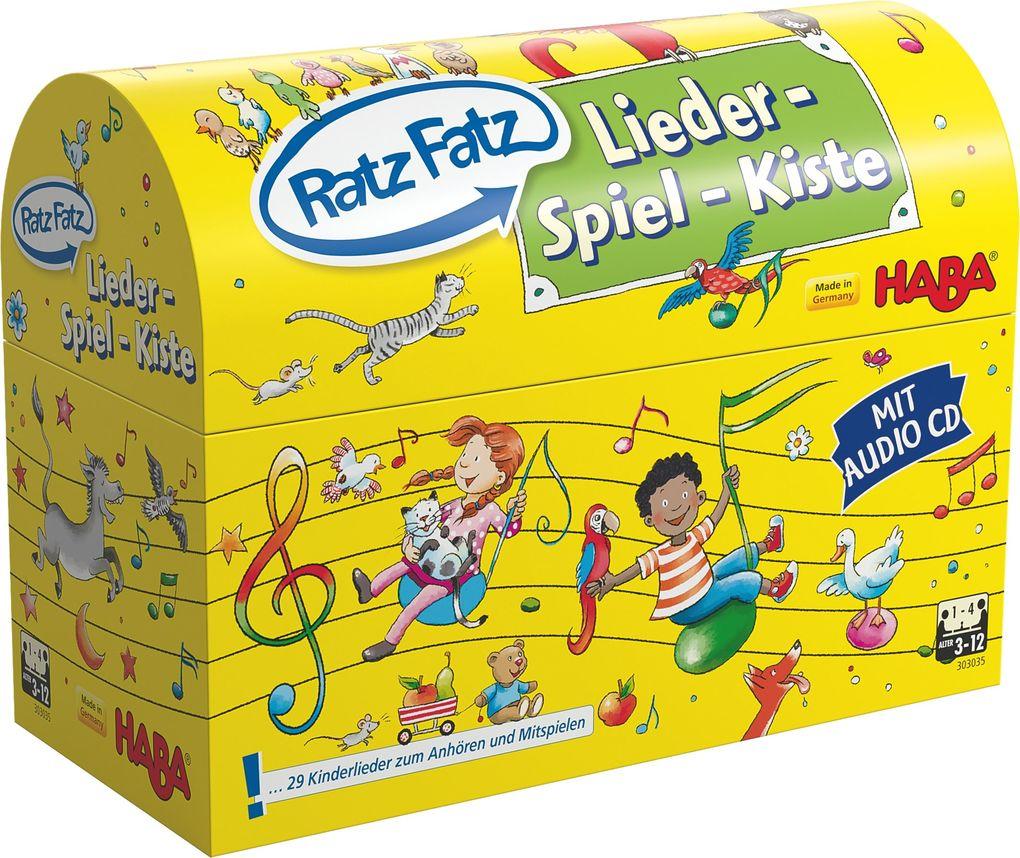HABA - Ratz Fatz Lieder-Spiel-Kiste