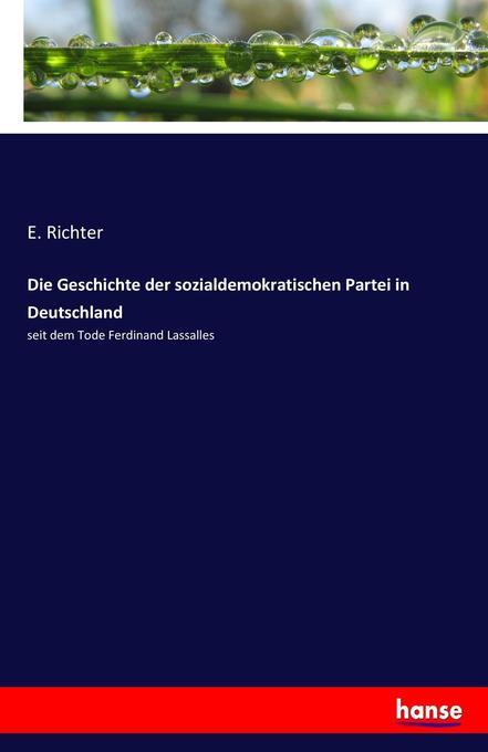 Die Geschichte der sozialdemokratischen Partei ...