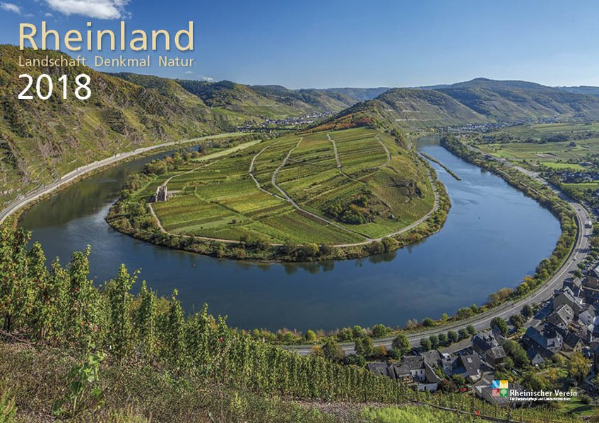 Rheinland 2018 Wandkalender A4 quer