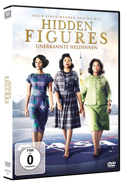Hidden Figures als DVD