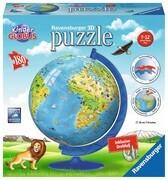Kinderglobus in deutscher Sprache 3D Puzzle-Ball 180 Teile
