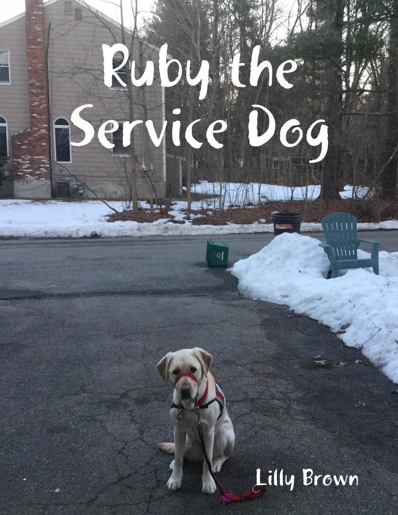 Ruby the Service Dog als eBook Download von Lil...