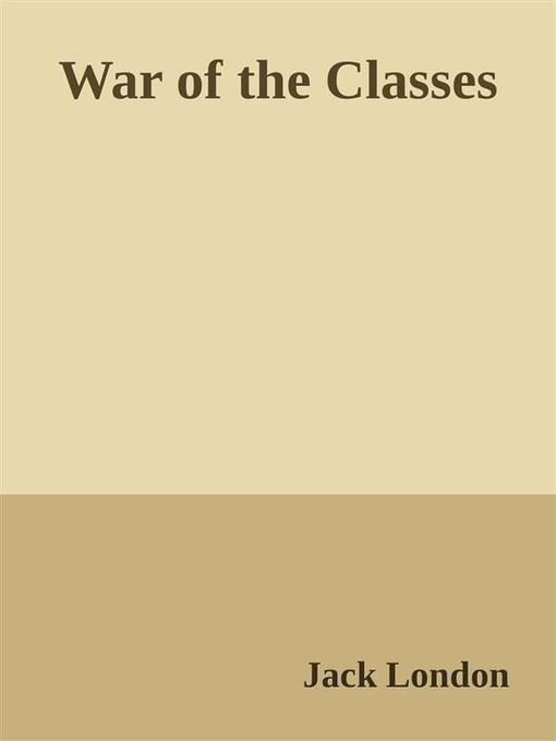 War of the Classes als eBook Download von Jack ...