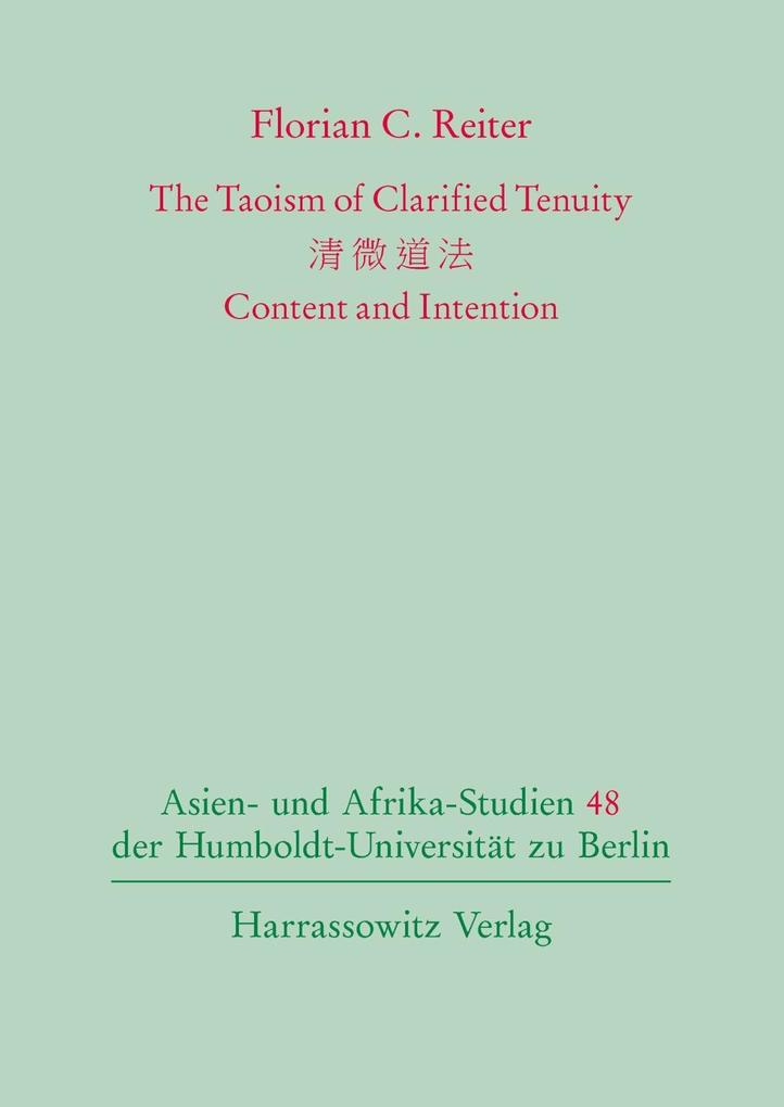 The Taoism of Clarified Tenuity als eBook Downl...