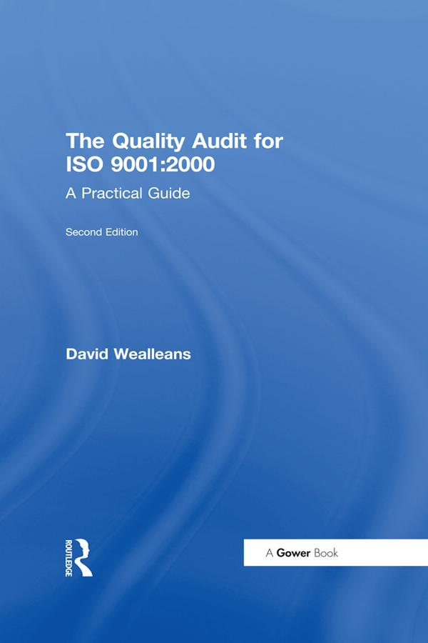 Quality Audit for ISO 9001:2000 als eBook Downl...