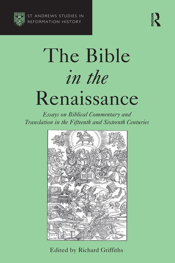 Bible in the Renaissance als eBook Download von