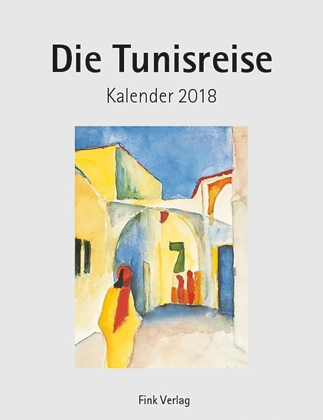 Die Tunisreise 2018. Kunstkarten-Einsteckkalender