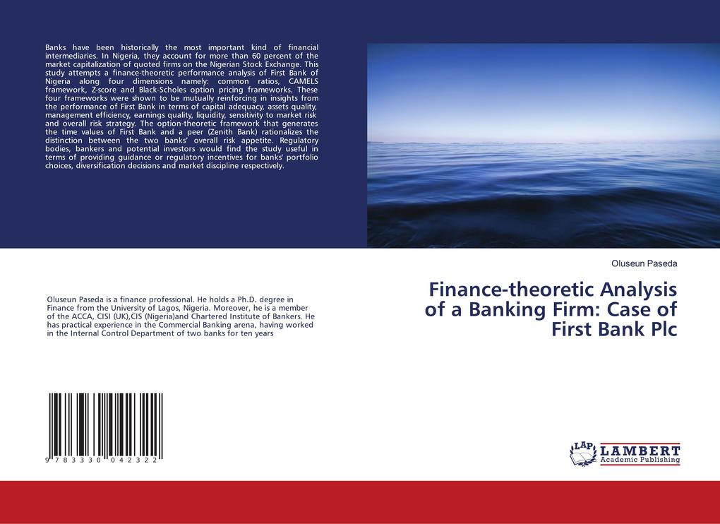 Finance-theoretic Analysis of a Banking Firm: C...