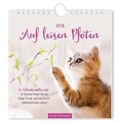 Auf leisen Pfoten 2018 Postkartenkalender