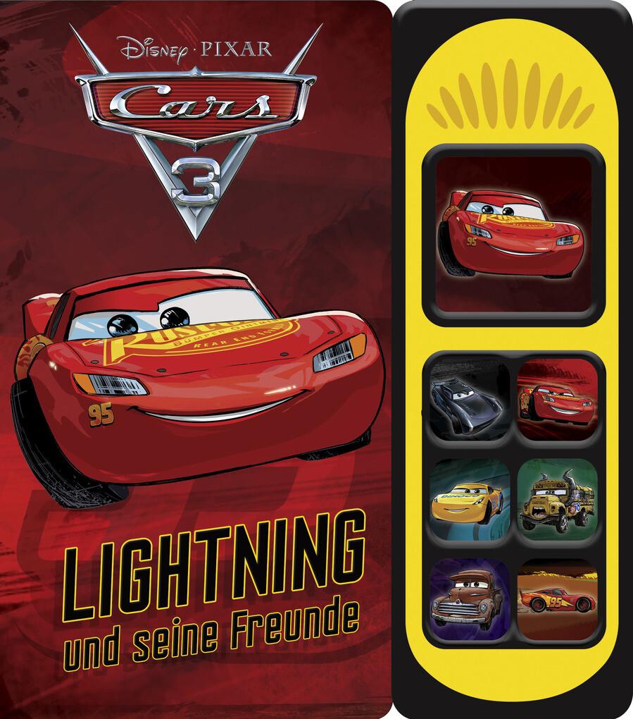 Cars 3 - Lightning und seine Freunde als Buch von