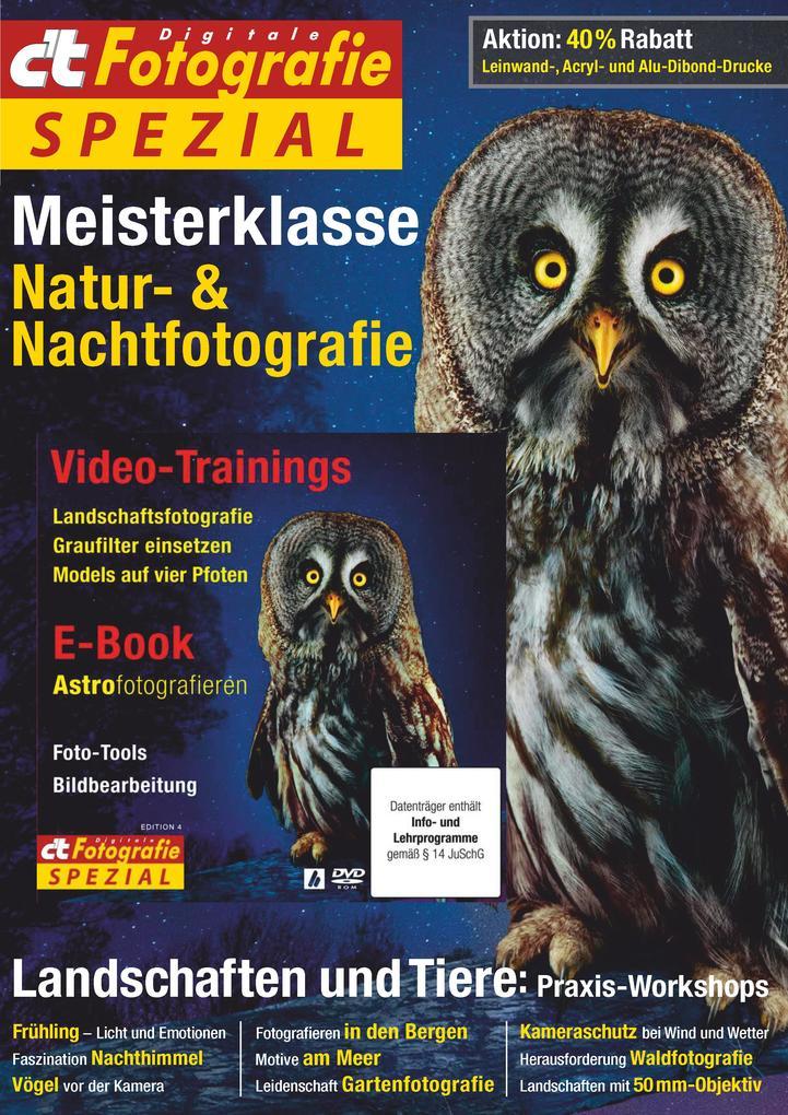c´t Fotografie Spezial: Meisterklasse Edition 4...