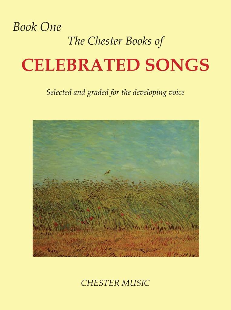 The Chester Book Of Celebrated Songs: Book 1 (V...