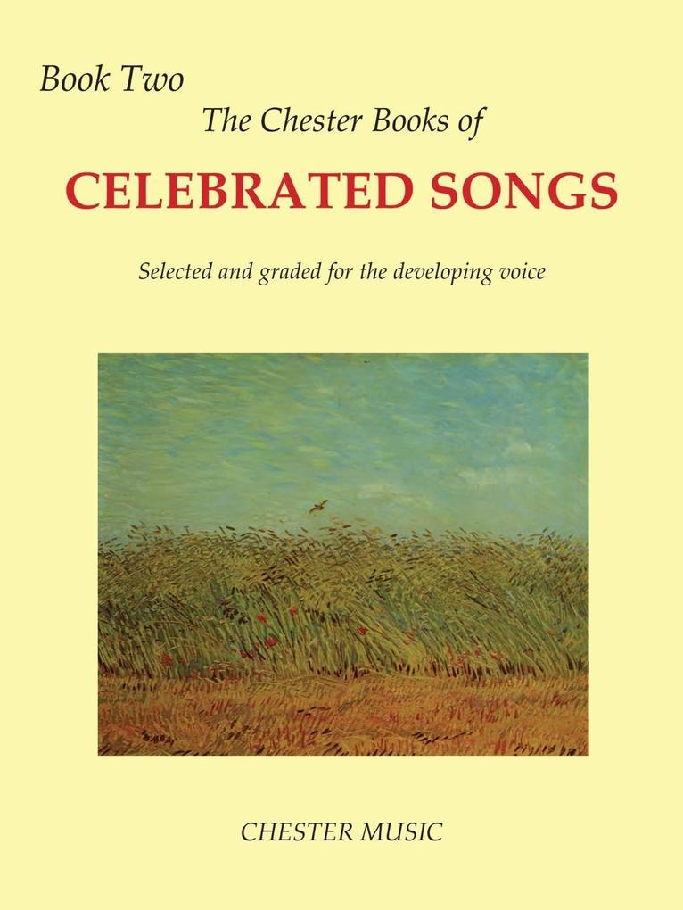 The Chester Book Of Celebrated Songs: Book 2 (V...