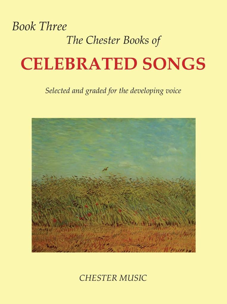 The Chester Book Of Celebrated Songs: Book 3 (V...