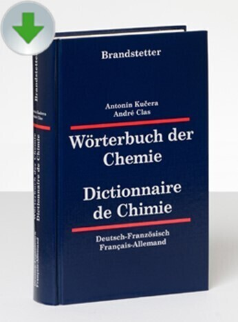 Wörterbuch der Chemie Deutsch-Französisch / Fra...