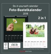 Foto-Bastelkalender 2018 s/w datiert