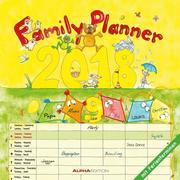 Familienplaner 2018 Broschürenkalender