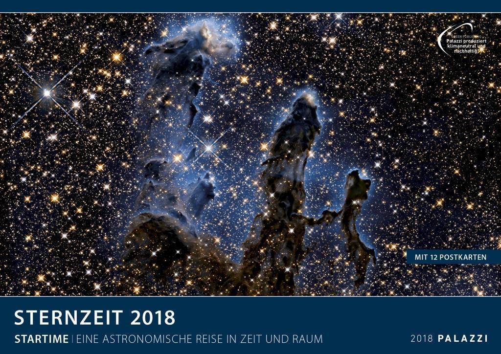 Sternzeit 2018 als Kalender