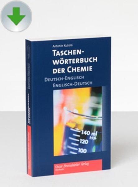 Taschenwörterbuch der Chemie Deutsch-Englisch /...