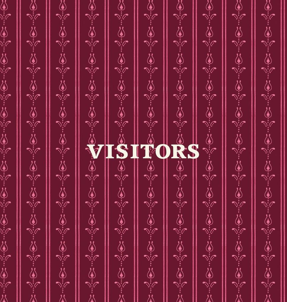 Visitors Book, Guest Book, Visitor Record Book,...