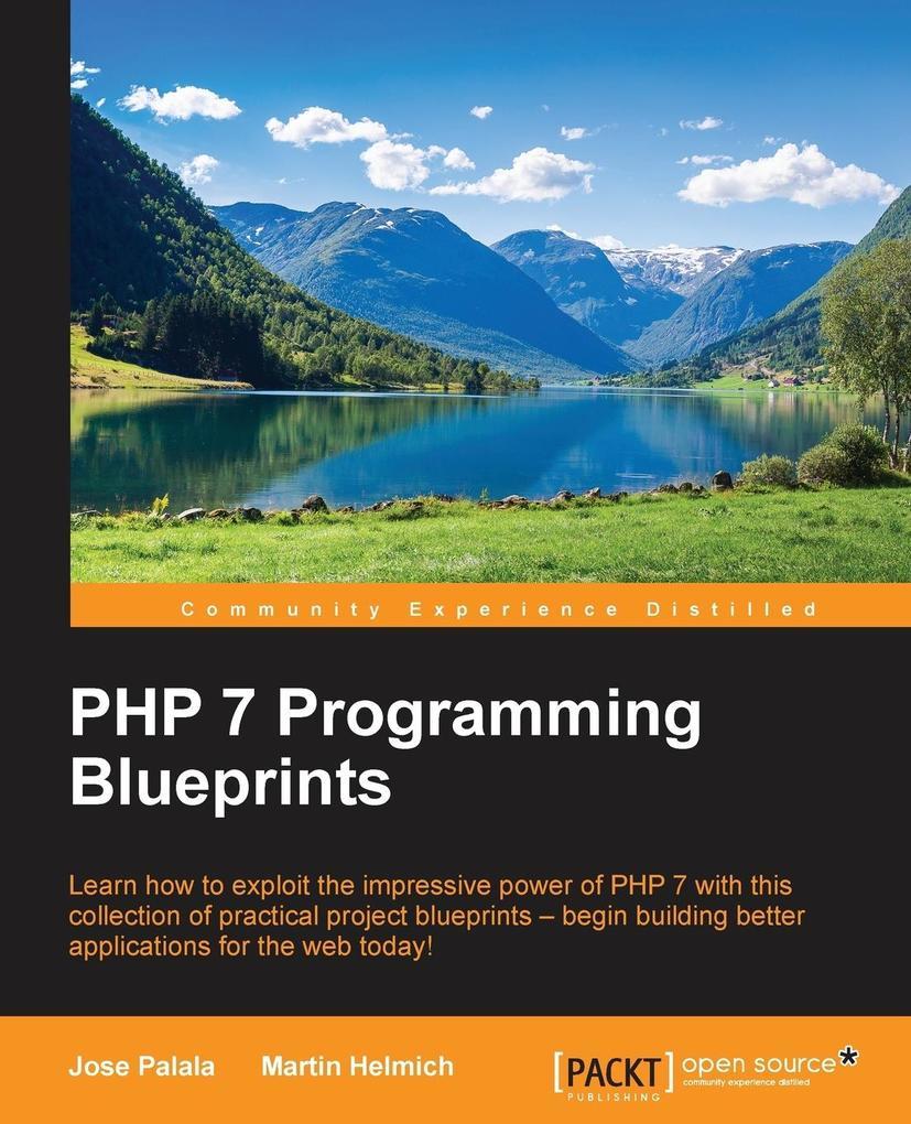 PHP 7 Programming Blueprints als Taschenbuch vo...