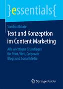 Text und Konzeption im Content Marketing