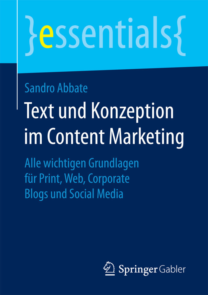 Text und Konzeption im Content Marketing als Bu...
