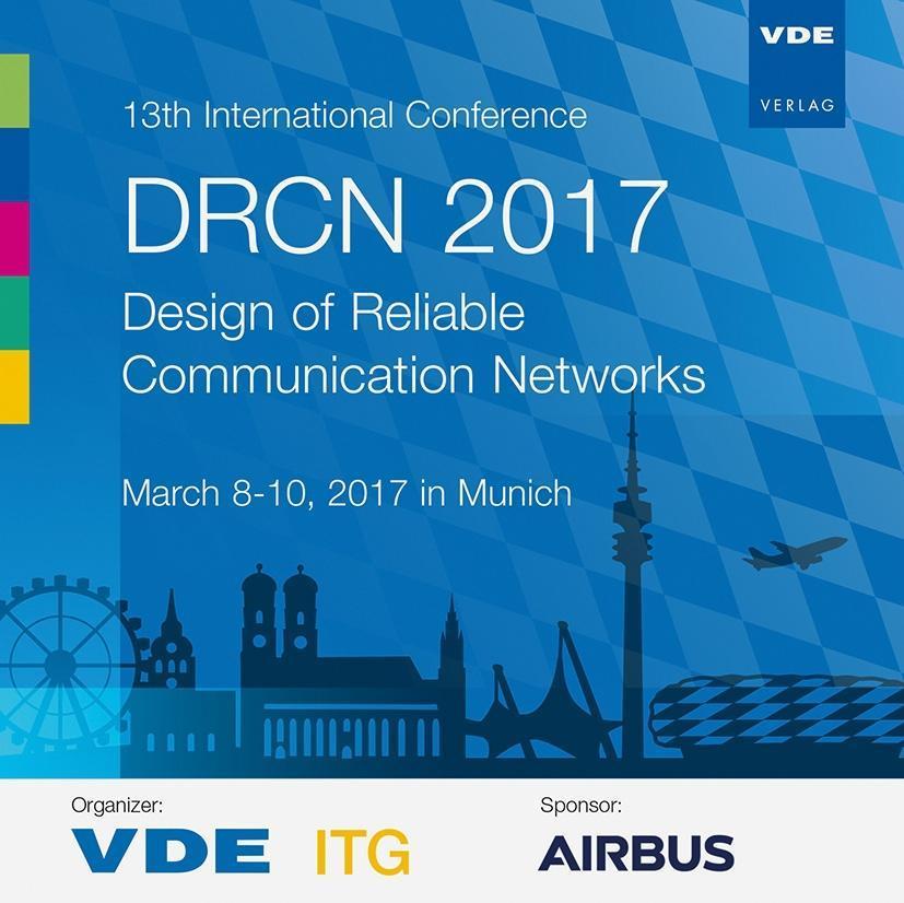 13th International Conference DRCN 2017