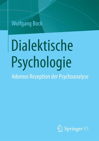Dialektische Psychologie als Buch von Wolfgang ...