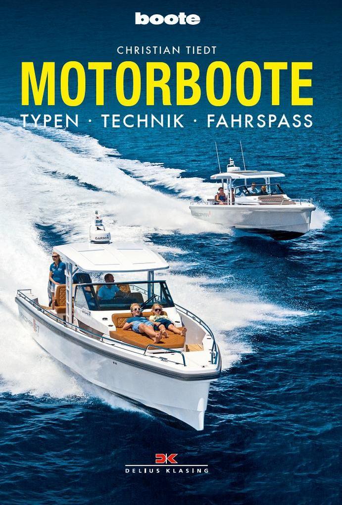 Motorboote als Buch von Christian Tiedt
