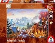 Thomas Kinkade, Ice Age, 1.000 Teile Puzzle