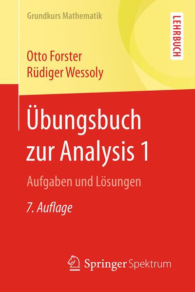 Übungsbuch zur Analysis 1 als Buch