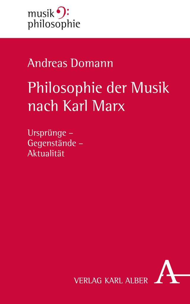 Philosophie der Musik nach Karl Marx als eBook ...