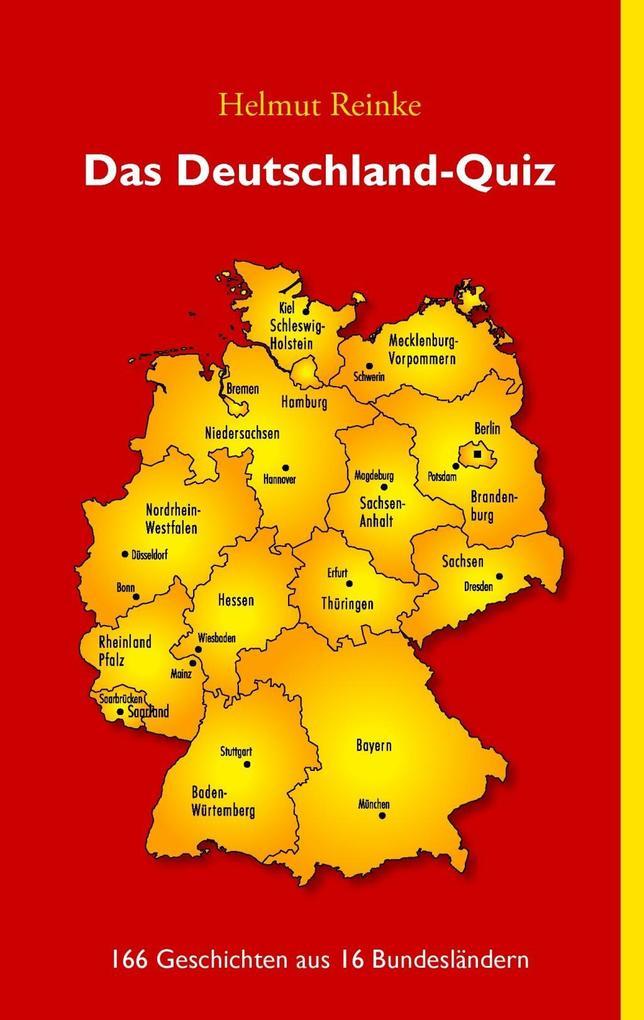 Das Deutschland-Quiz als eBook Download von Hel...
