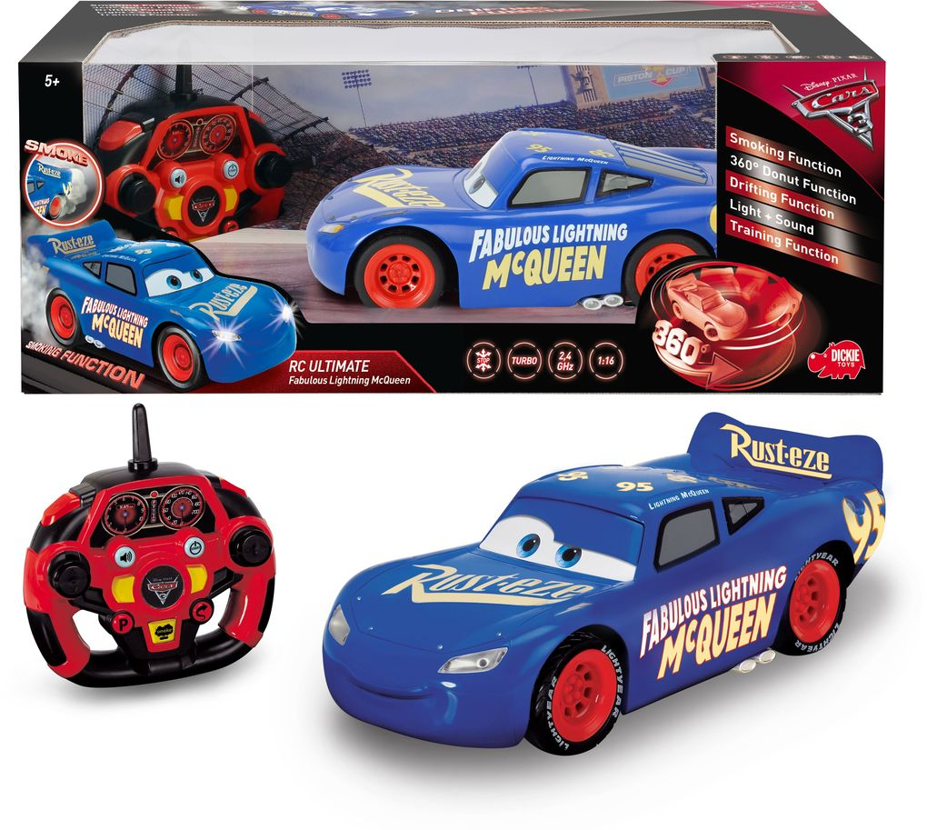 Dickie Toys - RC Cars 3 Fabulous Lightning McQueen
