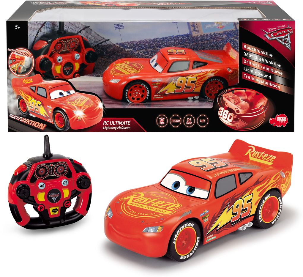 Dickie - Cars RC Ultimate Lightning McQueen