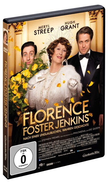 Florence Foster Jenkins als DVD