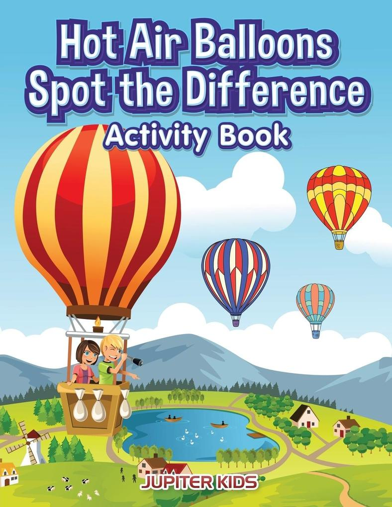 Hot Air Balloons Spot the Difference Activity B...