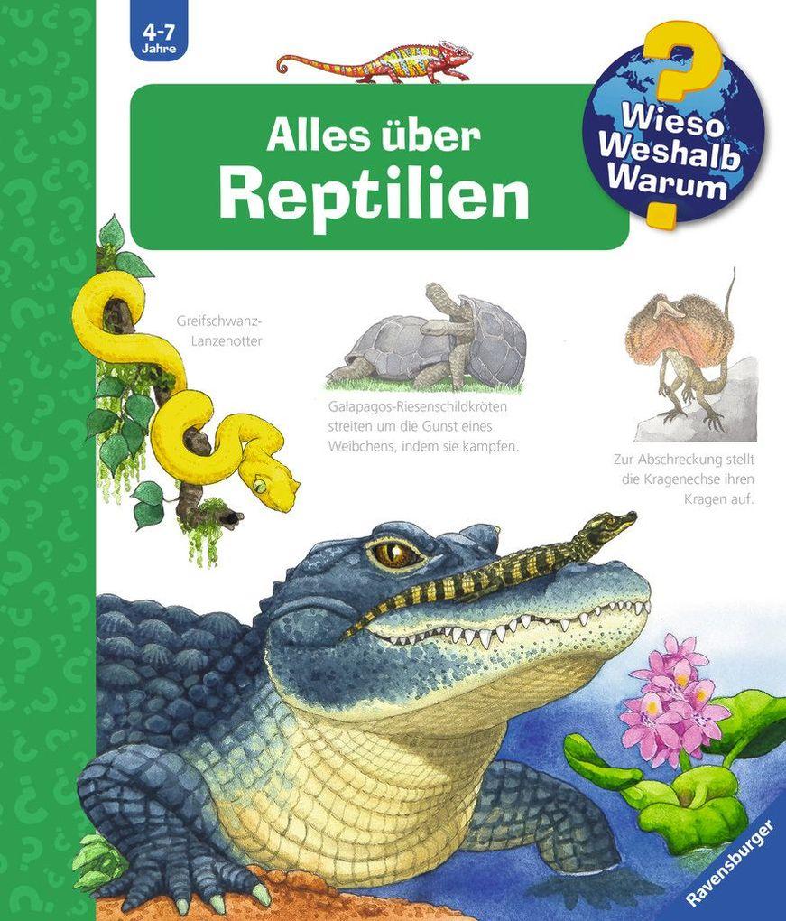 Alles über Reptilien als Buch