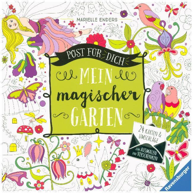 Post für dich! Mein magischer Garten als Buch von