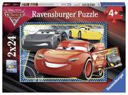 Disney Cars: Abenteuer mit Lightning McQueen. Puzzle 2 x 24 Teile
