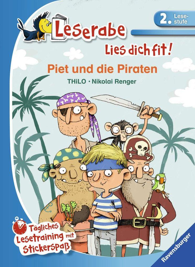 Piet und die Piraten als Buch (gebunden)